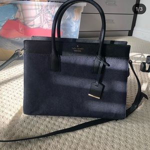 Kate Spade Cameron saffiano leather crossbody bag